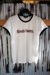 【LADY'S ITEM】 AFENDS Ac II Standard Fit Ringer Tee (Natural)