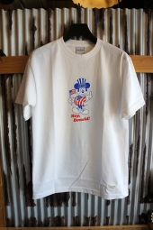 40s & Shorties Hey There Tee (White)