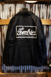 CYCLE ZOMBIES EVERYDAY Coach Jacket (BLACK)