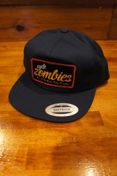 CYCLE ZOMBIES EVERYDAY Unconstructed Hat (NAVY)