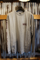 VANS WORLDS NUMBER 1 L/S T-SHIRT (ATHLETIC HEATHER)