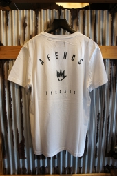 AFENDS THREADS - STANDARD FIT TEE (White)