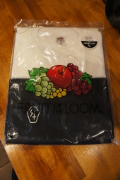FRUIT OF THE LOOM x LURKING CLASS 2 COLOR PACK TEE (WHITE/BLACK)