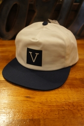 VANS × CHIMA UNSTRUCTURED SNAPBACK (DRESS BLUES/WHITE)