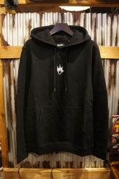 AFENDS FLAME PULL ON HOOD (BLACK)