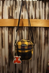 BUMBAG Classic THE BAGPIPE SHOULDER (PLAID)