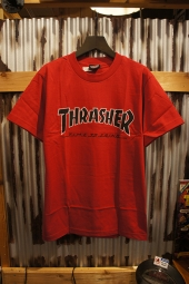 INDEPENDENT x THRASHER TIME TO GRIND S/S TEE (GARNET)