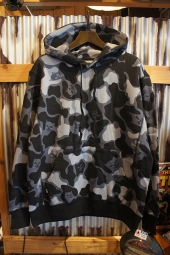 RIPNDIP NERMAL CAMO PULLOVER HOODIE (Blackout Camo)