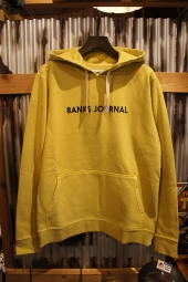BANKS JOURNAL LABEL PULLOVER FLEECE (OLD YELLOW)