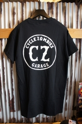 CYCLE ZOMBIES GARAGE S/S T-Shirt (BLACK)