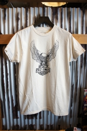 CYCLE ZOMBIES BIRDMAN S/S T-Shirt (DIRTY WHITE)