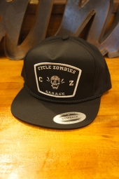 CYCLE ZOMBIES SMILE Snapback Hat (BLACK)