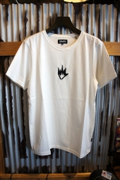 AFENDS Flame - STANDARD FIT TEE (WHITE)