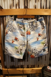 LURKING CLASS BY SKETCHY TANK ALOHA SURF TRUNKS (BLUE)