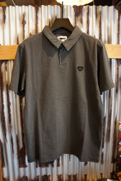 BANKS JOURNAL OCEANS S/S POLO (DIRTY BLACK)