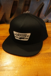 VANS FULL PATCH SNAPBACK CAP (BLACK)