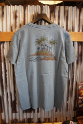 BANKS JOURNAL KEIKEI TEE SHIRT (GLACIER BLUE)