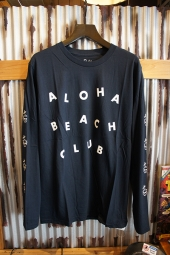 Aloha Beach Club Circus L/S Tee (Navy)
