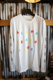 Aloha Beach Club Circus L/S Tee (White)
