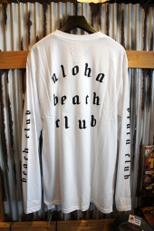 Aloha Beach Club League L/S Tee (White)