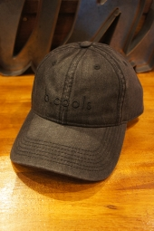 Barney Cools B.Cools Baseball Cap (Black acid denim)