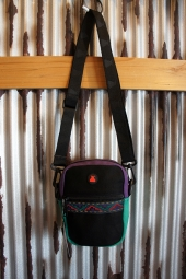 BUMBAG Java Compact Canvas (Black w/Ribbon)