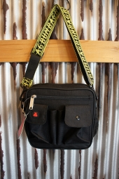 BUMBAG Standard Utility Cotton Ripstop+Soft Touch (Black)