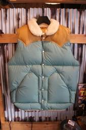 Rocky Mountain Featherbed Co. CHRISTY DOWN VEST (EMERALD)