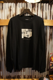 AFENDS No Music LONG SLEEVE TEE (BLACK)