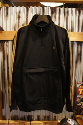 BRIXTON B-SHIELD III 1/2 ZIP (BLACK)