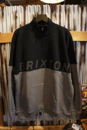 BRIXTON DIMENSION 1/2 ZIP (BLACK)