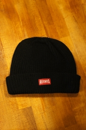 AFENDS Trash WHARFIE BEANIE (BLACK)